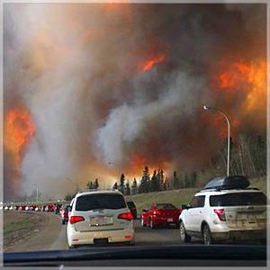 Waldbrand Kanada